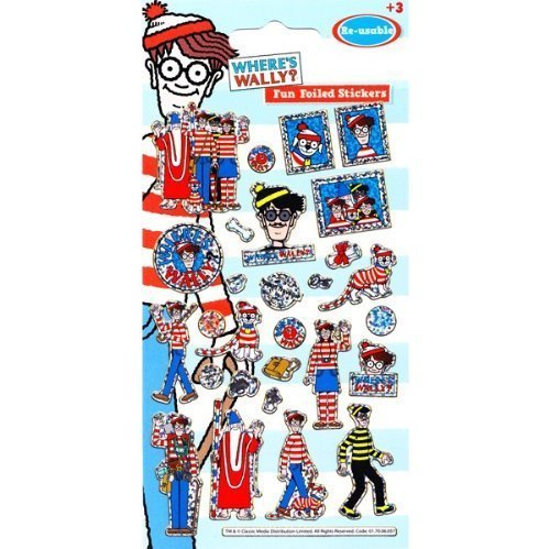 wheres-wally-foil-sticker-strip