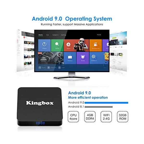 Android-90-TV-Box-4K-Botier-TV-4GB-RAM32GB-ROM-USB-30-2019-Dernire-Version-SUPERPOW-K4-S-Android-90-Smart-TV-Android-Box-avec-HDH265-4K-3D-BT41