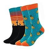 Herren Socken Bunt - Baumwolle Socken Herren, Herrensocken Sneaker Füßlinge...