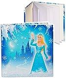 alles-meine.de GmbH Notizbuch / Tagebuch -  Prinzessin - Eisprinzessin  - blanko weiß - 96 Seiten - Dickes Buch gebunden - Reisetagebuch / Poesiealbum - Softcover / Fotobuch se..