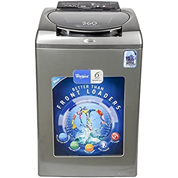 Whirlpool 8 kg Fully-Automatic Top Loading Washing Machine (360 WRD SR WS 80H, Graphite)