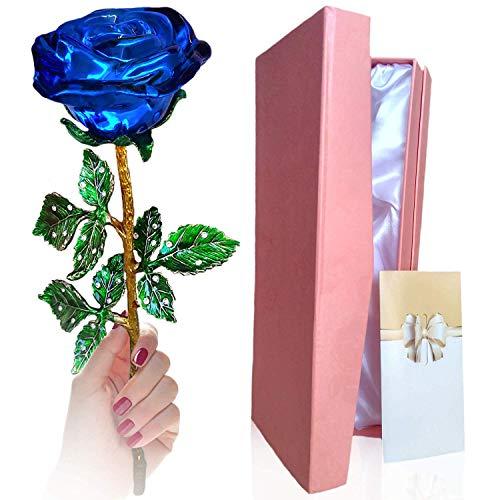 Black Friday Rosa, Eternal Rose di Cristallo Fatte a Mano - Moglie, Fidanzata/San Valentino/Festa della Mamma/Giorno del...