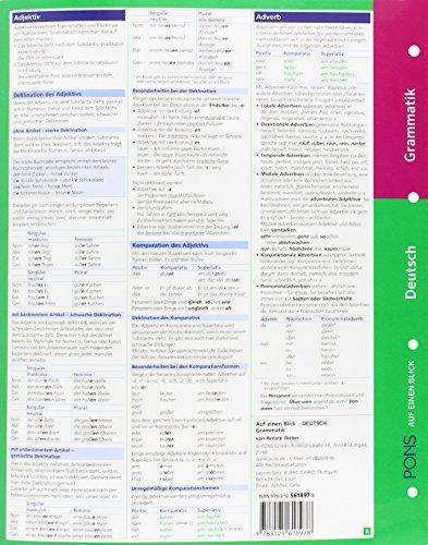 PONS Grammatik auf einen Blick Deutsch - 2