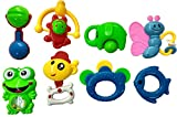 Blossom Non Toxic Baby Rattle Toy Set of...