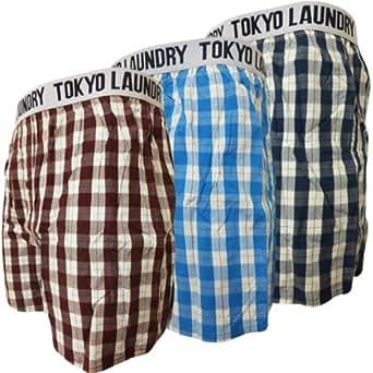 Tokyo boxer (Wolf) Burgundy/Sky/Steel Blue XXL