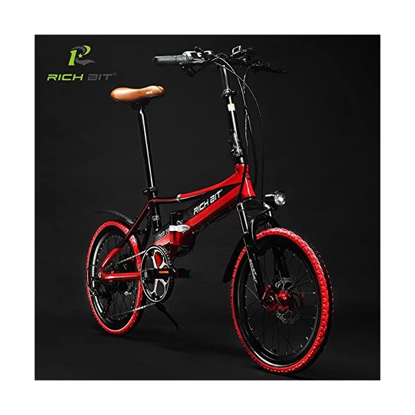 4a500b0c9a2 Rich Bit® RT 700 Electric Bike eBike Folding Bicycle Cycling 250W ...