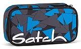 Satch Schlamperbox Blue Triangle 9D6 dreieck blau