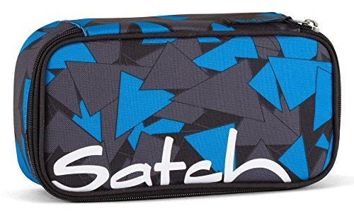 Satch Schlamperbox Blue Triangle 9D6 dreieck blau - Blues Dreieck