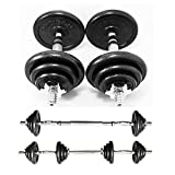 Best Barbell Sets - PROIRON 20kg Cast Iron Adjustable Dumbbell Set H Review