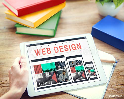 druck-shop24 Wunschmotiv: Web Design Software Technology Layout Blogging Concept #101970618 - Bild als Klebe-Folie - 3:2-60 x 40 cm / 40 x 60 cm