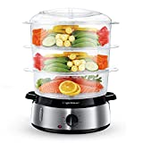Best Electric Food Steamers - Aigostar Fitfoodie 30KHM - Electric Food Steamer, 800W Review