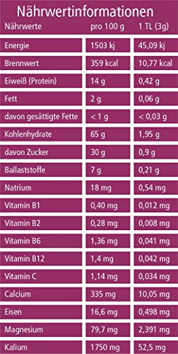 Bio Maca Pulver (Macapulver) in geprüfter Bio-Qualität (DE-ÖKO-22) (250g) - 4