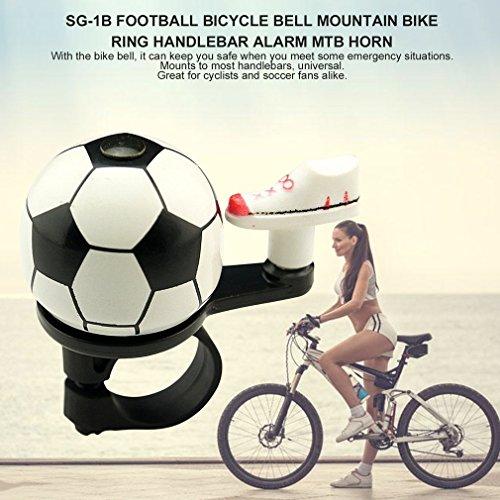 YTHXMXSZ SG-1B Football Bicycle Bell Mountain Bike Ring Handlebar Alarm MTB Horn