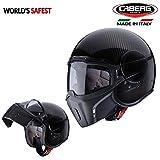 #5: Caberg Jet Ghost Full Face Helmet Carbon Fiber-L(56-58 CM)