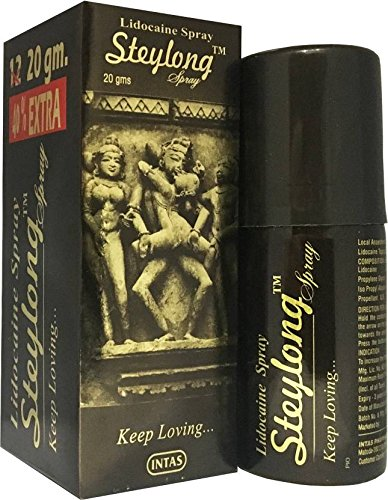 Staylong Extra Time Spray For Men - Pack Of 2 (12Gm+8Gm Extra)