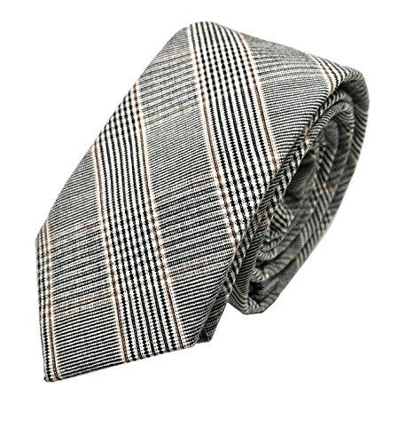 gooddesigns-cravate-slim-6cm-en-coton-homme-cravates-elegante-mince-faite-a-la-main-pour-costume-mar