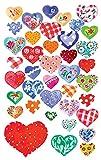 Avery Zweckform 55811 Deko Sticker Herzen 78 Aufkleber
