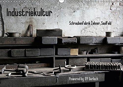 Industriekultur, Schraubenfabrik Zehner, Saalfeld (Wandkalender 2019 DIN A3 quer): Eindrücke einer Schraubenmanufaktur aus den Anfängen des 19. ... (Monatskalender, 14 Seiten ) (CALVENDO Kunst)