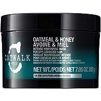TIGI Catwalk Oatmeal & Honey Maschera Nutriente Intensiva, per Capelli Secchi e Danneggiati, 200 gr