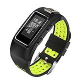 Armbanduhr,Binggong 2018 GPS Smart Watch Activity Tracker Bluetooth Uhr Kompatibel mit iOS und Android Sportuhr, Bluetooth, Fitness, Puls, Nachrichten, Farbdisplay, IP68 (Pulsuhren) (0.96 inch, Grün)