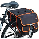 Ibera Fahrrad-Seitentasche, Gepäckträgertasche, Fahrradtasche, Bike Panniers