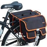 Ibera 2 en 1 Alforjas para bicicleta, Messenger Bag - IB-BA8