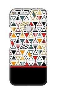 ZAPCASE Printed Back Cover for Google Pixel