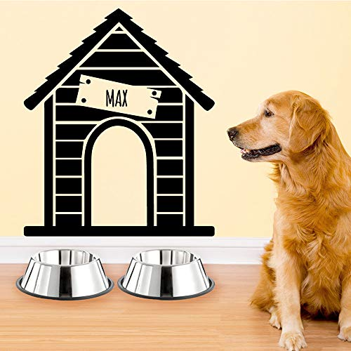 Neues Design Hundehütte Wandaufkleber Von Einrichtungs Dekorative Wandaufkleber Room Decor Wandaufkleber Wasserdichte Tapete rot L 43 cm X 51 cm