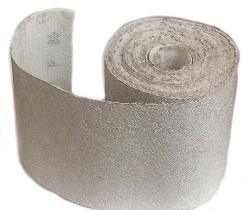Sungold Abrasives 66839Haken & Schleife Schleifen Rollen für karebac Line Profil Sanders 400grit Premium Plus Papier stearated Aluminiumoxid, 4–7/20,3cm X 5YD