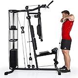 HAMMER Premium Kraftstation – Über 30 Übungsmöglichkeiten für Schulter, Brust, Rücken, Beine, Bauch, Arme - 4