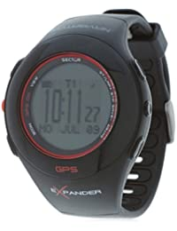 Sector Unisex Digital Watch with LCD Dial Digital Display and Black Rubber Strap R3251188015