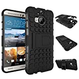 MOONCASE HTC One M9+ Hülle, Dual Layer Hybrid Rugged Heavy