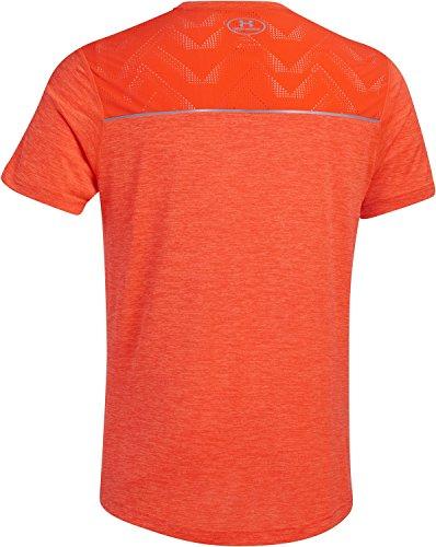 Under Armour Herren Running-Shirt/Kurzarm Armourvent Launch Short Sleeve Tee Bolt Orange