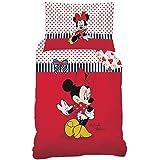 Disney Minnie 044001Sweetie de cama, algodón renforce, 160x 210+ 65x 100cm