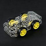 Bausatz: 4WD Smart Car Chassis für Roboter - ideal für Arduino Raspberry Pi