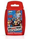 Winning Moves WIN61908 - Top Trumps - The Big Bang Theory, Kartenspiel