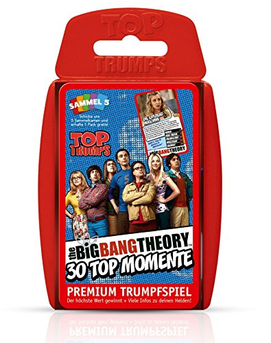 Winning Moves WIN61908 Sheldon Top Trumps - The Big Bang Theory, Trumpfspiel - Spiel Bang