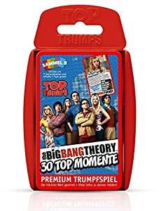 Winning Moves Mueve Exitosas WIN61908 - Top Trumps - The Big Bang Theory, Juego de Cartas