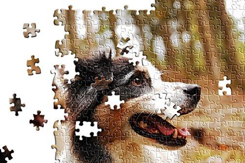hansepuzzle Foto-Puzzle - 500 Teile mit eigenem Bild in hochwertiger, individueller Kartonbox, Puzzle-Teile in wiederverschliessbarem Beutel - Puzzle Foto