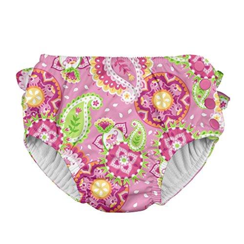 Preisvergleich Produktbild i play. 711153 Schwimmwindel, Paisley Elephant, 12m (6-12 Monate), rosa