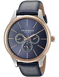 Akribos XXIV Analog Blue Dial Men's Watch - AK870BU
