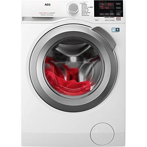 AEG L6FBG844 Libera installazione Carica frontale 8kg 1400Giri/min A+++ Bianco lavatrice