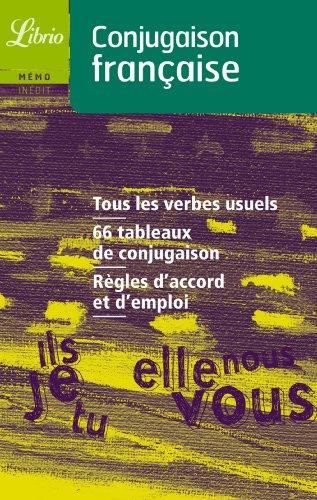 Conjugaison française par J'ai lu