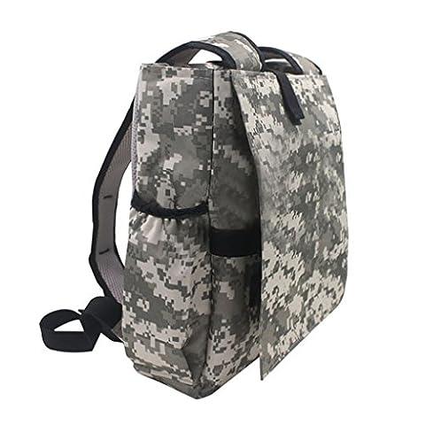 LUFA Military Electronics Travel Organizer Bag Battery Laptop Inverter Backpack