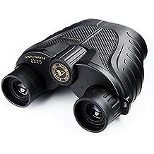 Binocolo Impermeabile All'aperto VS8x25S, SGODDE Compact Powerview Facile Fuoco con Custodia per Escursioni All'aperto, Tiro, Viaggiare,Visite Turistiche, Caccia, Birdwatching