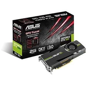 Asus GTX680-2GD5 Carte graphique Nvidia Geforce GTX680 2048Mo 750Mhz PCI-Express 16x
