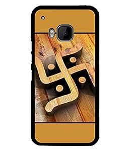 PrintVisa Designer Back Case Cover for HTC One M9 :: HTC One M9S :: HTC M9 (Swastik Symbol Spiritual Signs devotional)