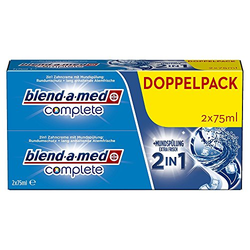 Preisvergleich Produktbild BLEND-A-MED COMPLETE 2IN1 DUOPACK 2X75ML