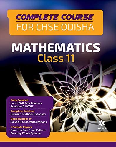 Complete Course Mathematics Class 11th CHSE Odisha