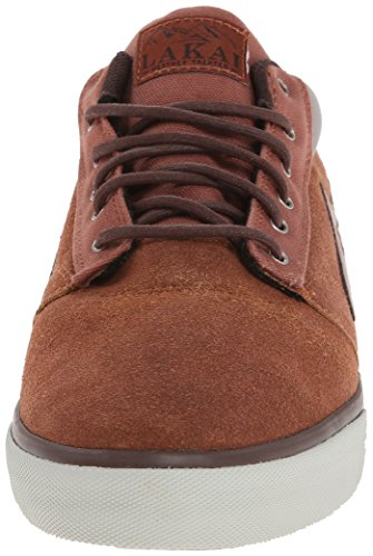 Lakai Griffin Mid, Chaussures de skateboard homme Marron (Brown Suede All Weather)